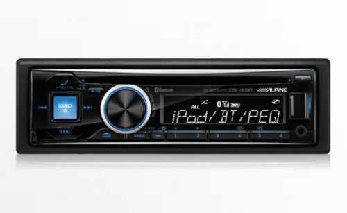 Alpine CDE-143BT - Advanced Bluetooth® Receiver