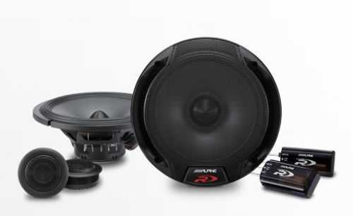 Alpine SPR-60C - 6-1/2 inch Component 2-Way Speaker System