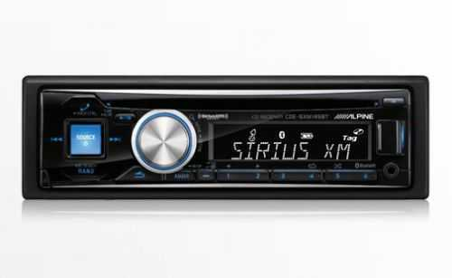 Alpine - CDE-SXM145BT - Bluetooth / CD / Sirus XM Ready