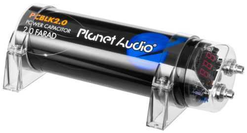 Planet Audio PCBLK2.0 - 2 Farad Capacitor